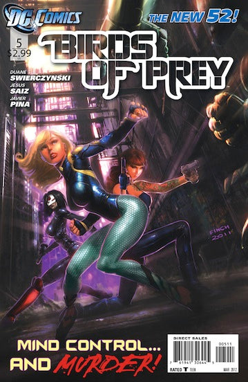 BIRDS OF PREY VOL 3 #5