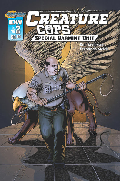 CREATURE COPS SPECIAL VARMINT UNIT #2 - Kings Comics