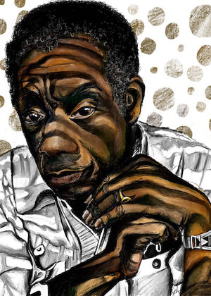 "LIMITED EDITION ""UNFINISHED"" SERIES - JAMES BALDWIN"