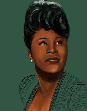 "LIMITED EDITION ""UNFINISHED"" SERIES - ELLA FITZGERALD"