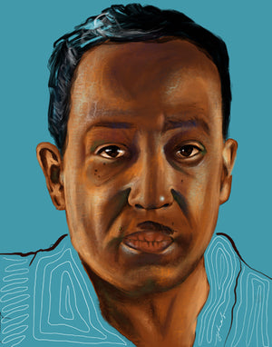 "LIMITED EDITION ""UNFINISHED"" SERIES - LANGSTON HUGHES"