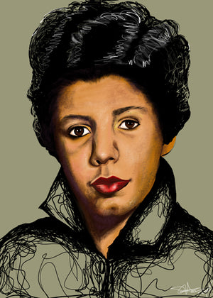 "LIMITED EDITION ""UNFINISHED"" SERIES - LORRAINE HANSBERRY"