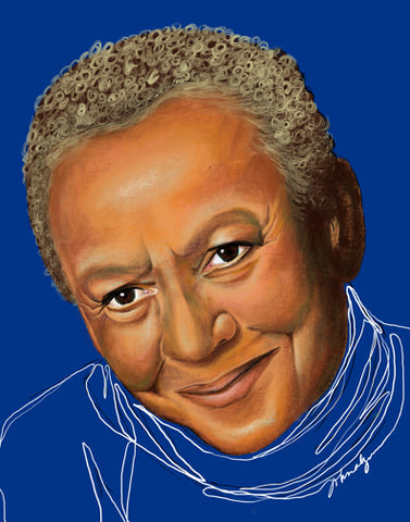 "LIMITED EDITION ""UNFINISHED"" SERIES - NIKKI GIOVANNI"