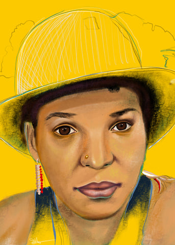 "LIMITED EDITION ""UNFINISHED"" SERIES - NTOZAKE SHANGE"