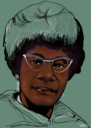 "LIMITED EDITION ""UNFINISHED"" SERIES - SHIRLEY CHISHOLM"