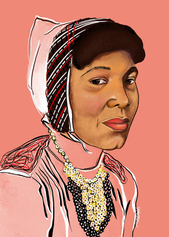 "LIMITED EDITION ""UNFINISHED"" SERIES - ZORA NEALE HURSTON"