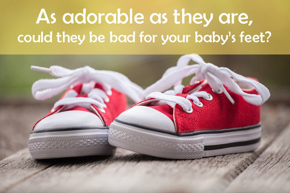 Why Baby Shoes May Not Be The Best Idea For Early Crawlers & Walkers?