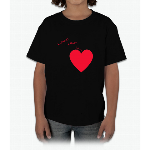 """love Love Love"" Happy Valentine Day Young T-Shirt"