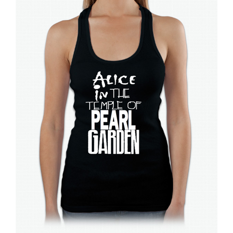 """ Alice In The Temple Of Pearl Garden"" Womens Tank Top"