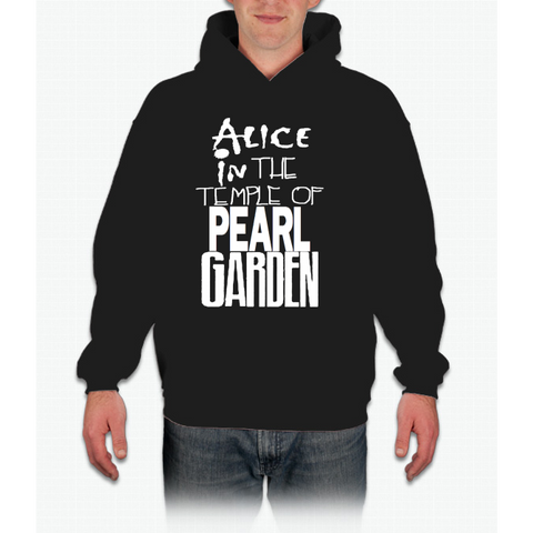 """ Alice In The Temple Of Pearl Garden"" Hoodie"