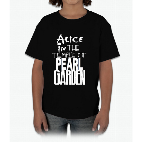 """ Alice In The Temple Of Pearl Garden"" Young T-Shirt"