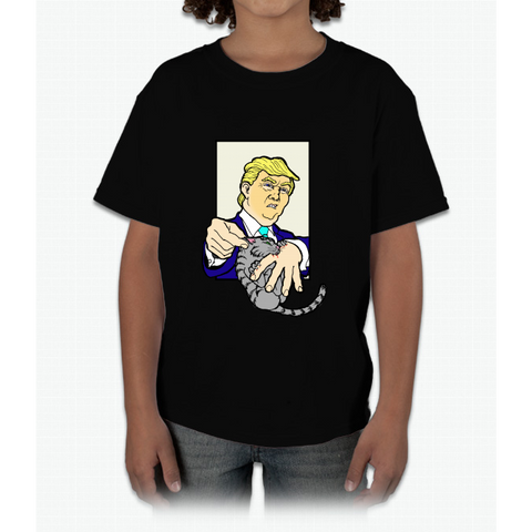 """easier Said Than Done"" Trump Young T-Shirt"