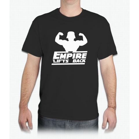 Star Wars - The Empire Lifts Back - Mens T-Shirt