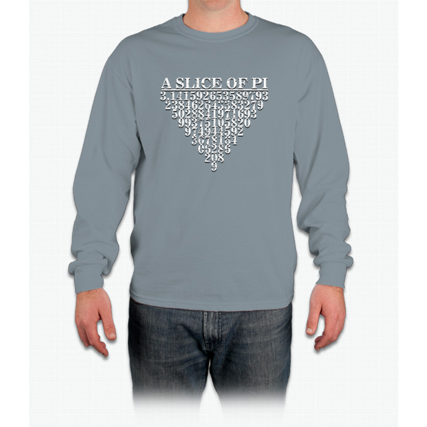A Slice Of Pi Long Sleeve T-Shirt