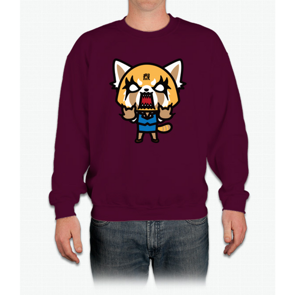Aggretsuko Mad Crewneck Sweatshirt