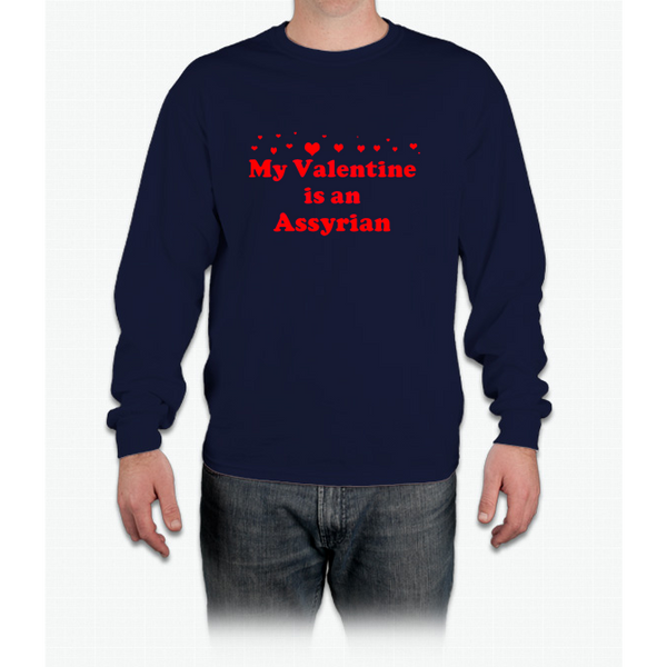 Assyrian Valentine Long Sleeve T-Shirt