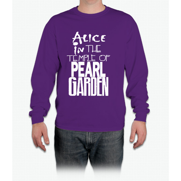""" Alice In The Temple Of Pearl Garden"" Long Sleeve T-Shirt"