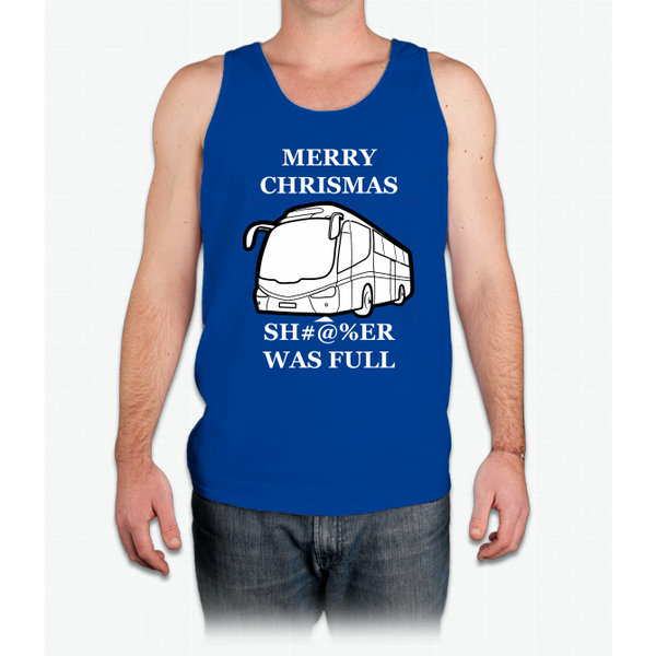 Ripple Junction National Lampoon's Christmas Vacation Sh#@%er Was Full Adult - Mens Tank Top