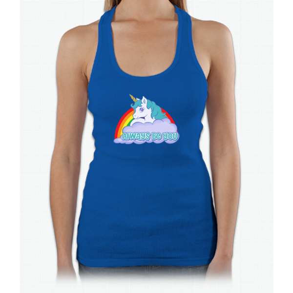 Always Be You - Central Intelligence - Unicorn Bob Stone Womens Tank Top