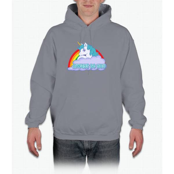 Always Be You - Central Intelligence - Unicorn Bob Stone Hoodie