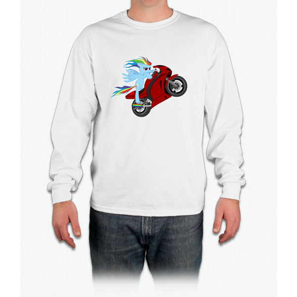20% Cooler Moto Long Sleeve T-Shirt