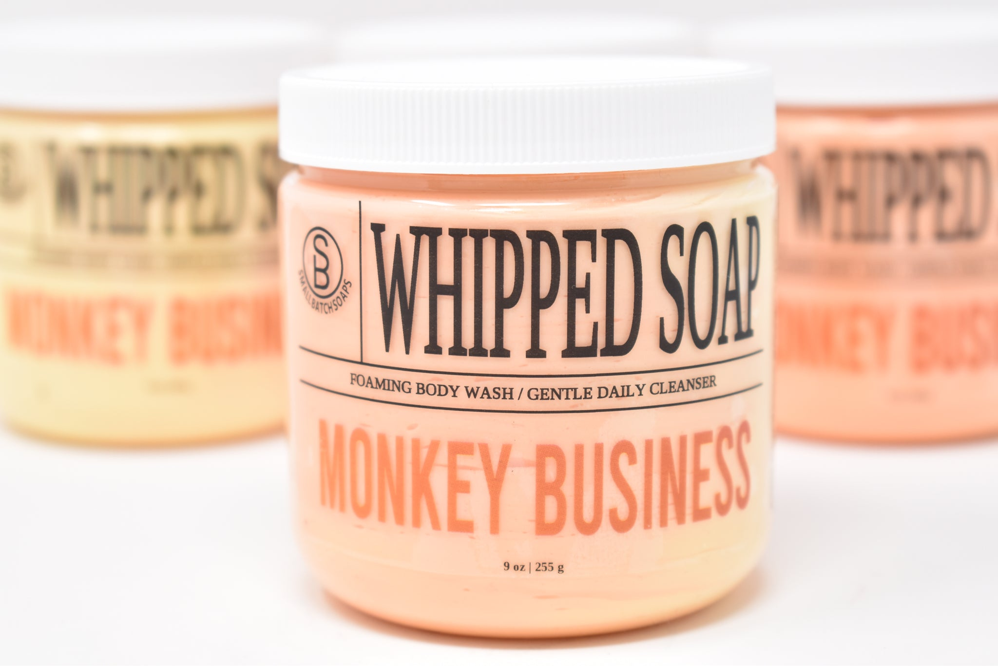 Monkey Business Whipped Soap - Foaming Body Wash