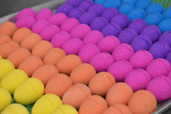 Easter Egg Bath Bombs - 5 Bath Bombs