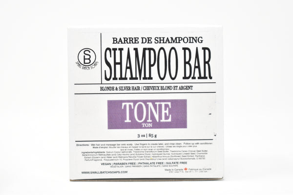 TONE Shampoo Bar - Purple Toner for Blonde & Silver Hair