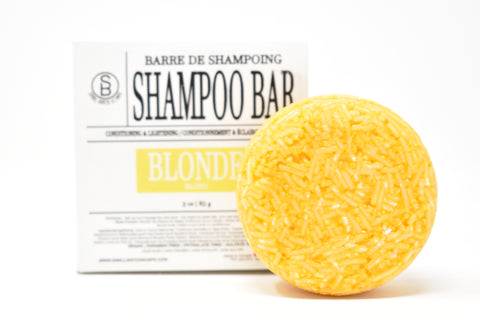 BLONDE Shampoo Bar - Conditioning & Lightening