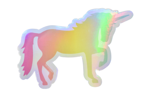 Unicorn Holographic Sticker