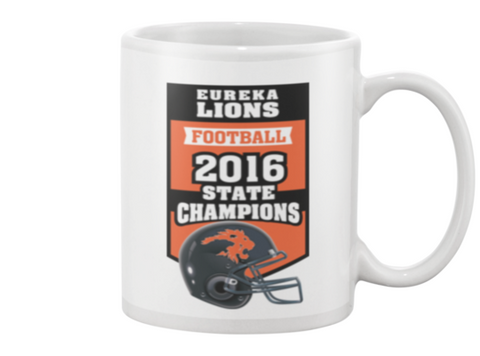 "2016 Eureka Lions Football State Champs MUG ""SPECIAL EDITION"""