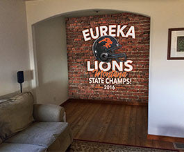 Eureka Lions Wall Coverings