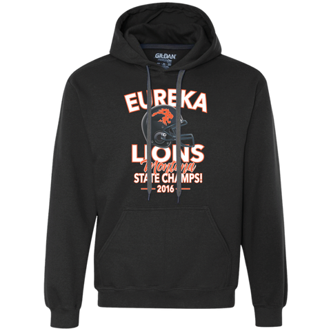 2016 Eureka Lions Football State Champs - Heavyweight Pullover Fleece Sweatshirt