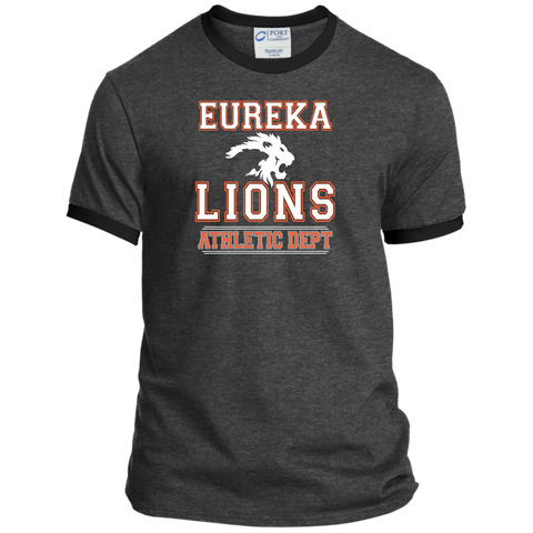 "2017 LIONS ""ATHLETIC DEPT White"" Ringer Tee"