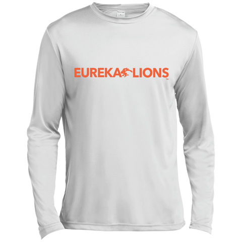 LIONS CLASSIC Orange - Long Sleeve Moisture Absorbing Tee