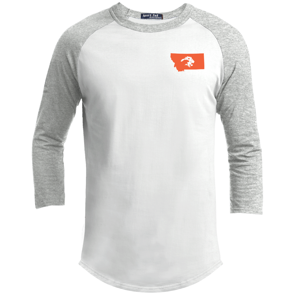 """STATE PRIDE"" Orange Logo - Sporty Tee Shirt"