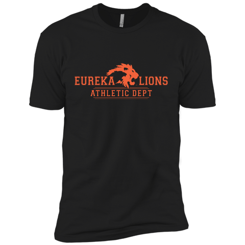 "2017 LIONS ""ATHLETIC DEPT-2-ORNG"" Next Level Premium Short Sleeve Tee"