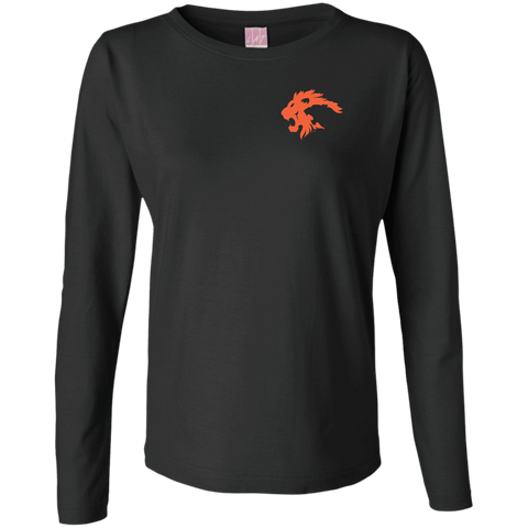 """CLASSIC"" Ladies Long Sleeve Cotton TShirt"