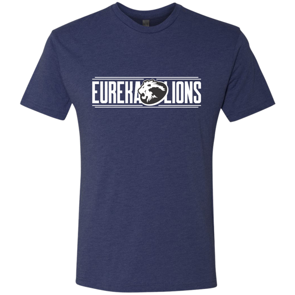 "EUREKA LIONS ""Robinson"" Next Level Men's Tri-Blend Tee"