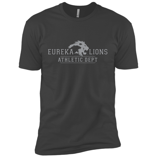 "2017 LIONS ""ATHLETIC DEPT-2-GRY"" Next Level Premium Short Sleeve Tee"