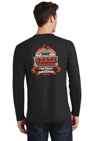 Football Back2Back Championship Tee Long Sleeve
