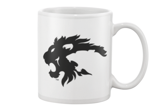 Eureka Lions Logo MUG (black on white)