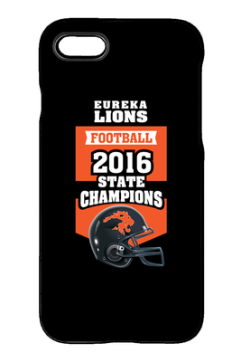 iPhone Case - 2016 Football Champs (helmet)
