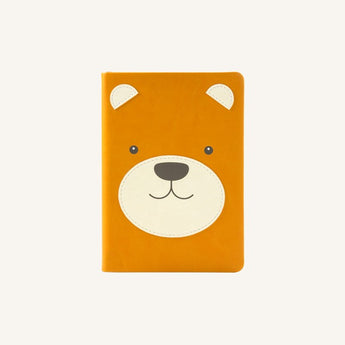 Animal Pals Lined Notebook A6 - Bear