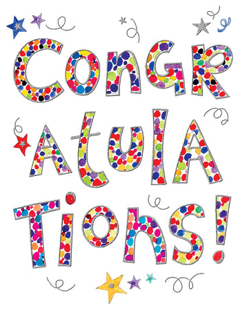 Congratulations (Large Card)