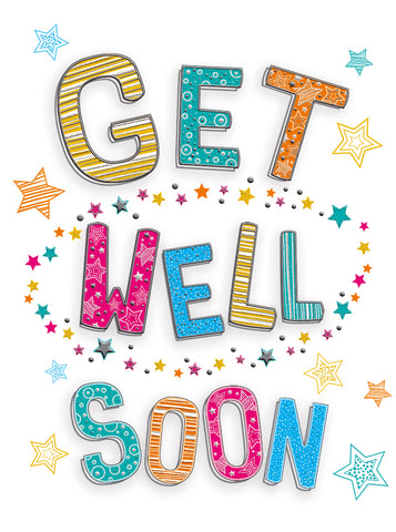 Get Well Soon (Large Card)