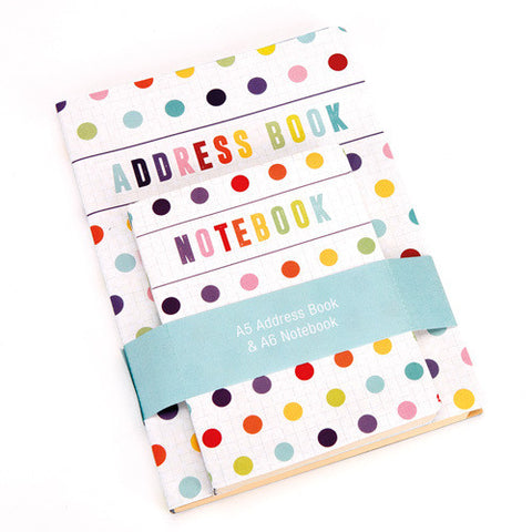 Address Book + Notebook