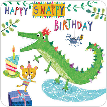 Birthday Crocodile
