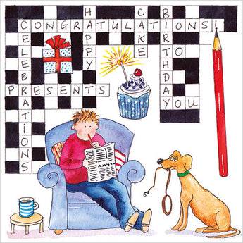 Birthday Crossword