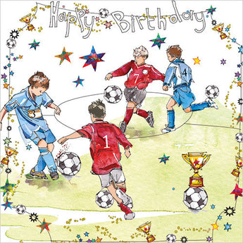 Birthday Footballers